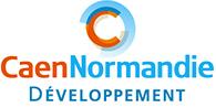 Logo Caen Normandie Développement
