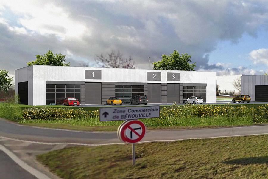 Local d'activité a vendre Bénouville