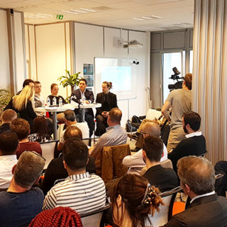 Conférence au forum digital