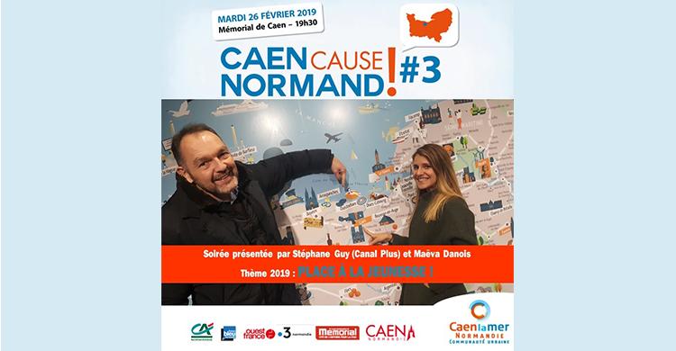 Affiche caen cause Normand 3