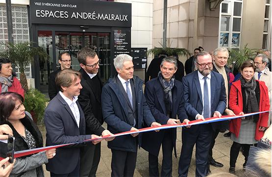 Inauguration Pôle Régional ESS