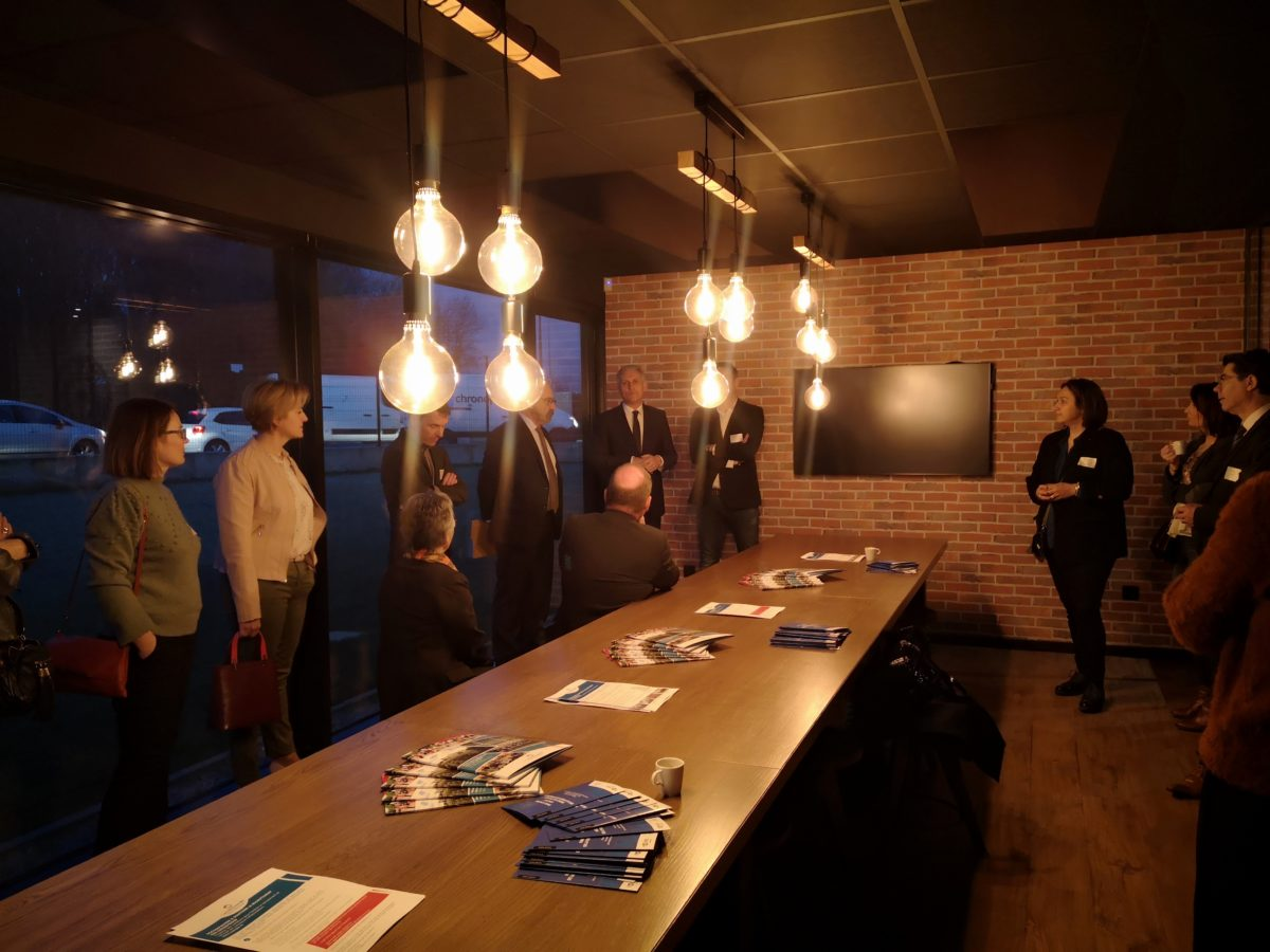 Matinale entreprises Caen la mer - Image in France - Caen - Janvier 2020