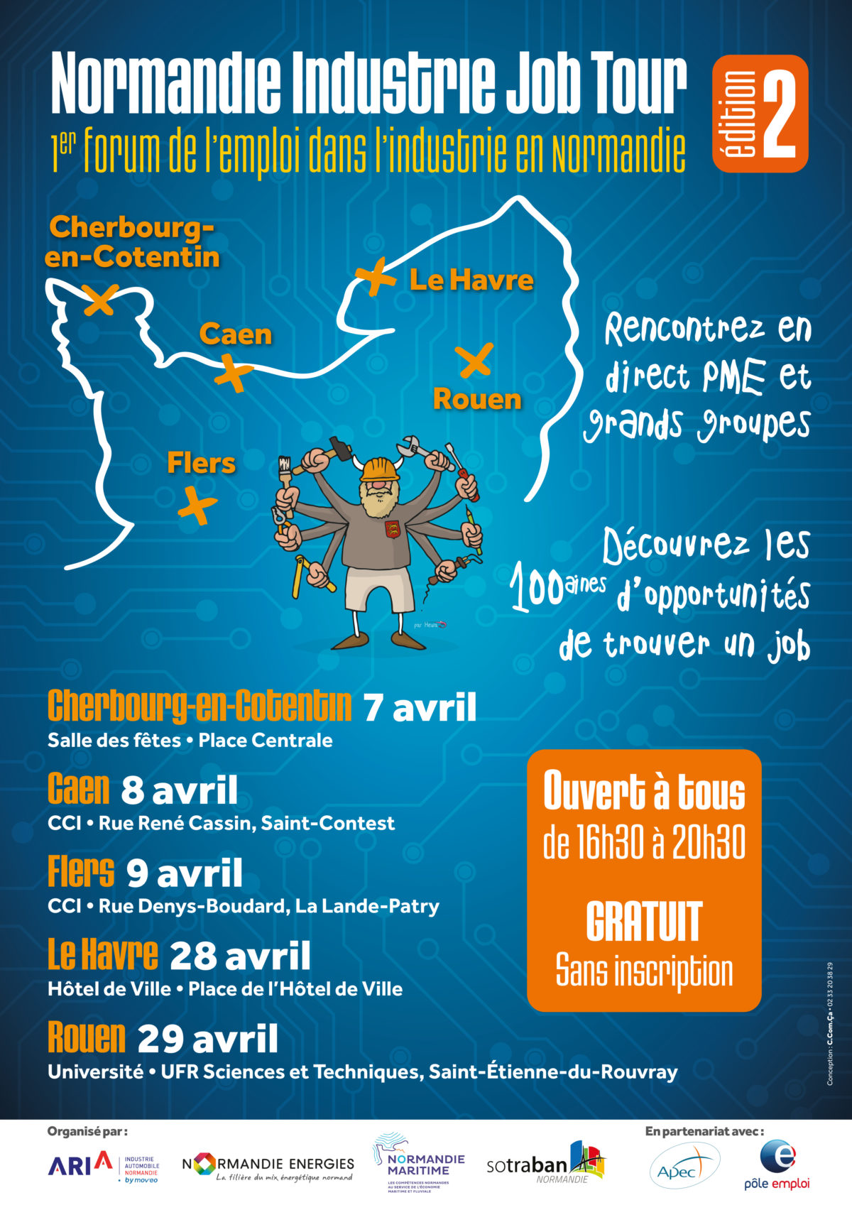 NOrmandie Industrie Job Tour 2020