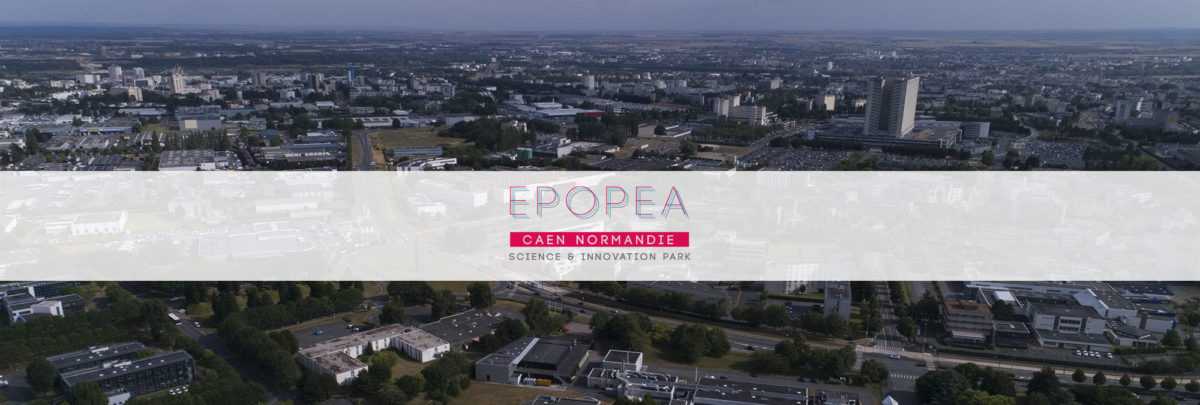 EPOPEA science & innovation science park Caen Normandie