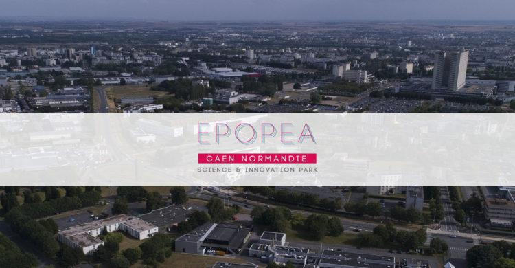EPOPEA science & innovation science park Caen Normandie