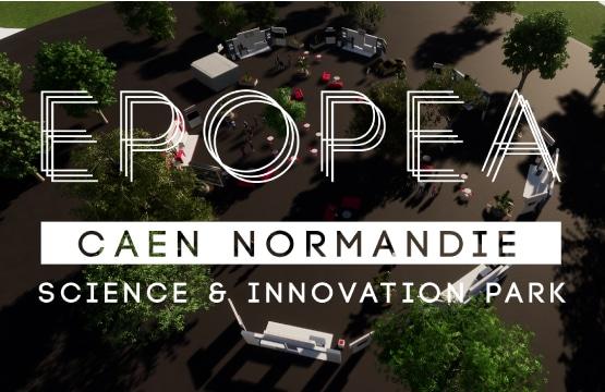 Vivez une expériencve virtuelle - decouvrir innovations EPOPEA Caen Normandie