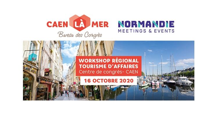 Workshop Tourisme d'affaires Caen 16 octobre 2020