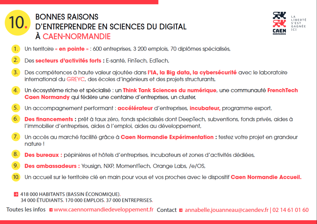 Entreprendre en sciences du digital