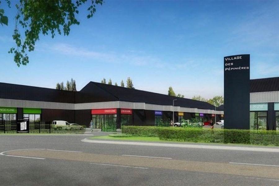 Local d'activité neuf a vendre Caen Nord