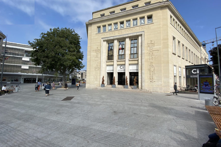Bureaux a louer centre ville Caen