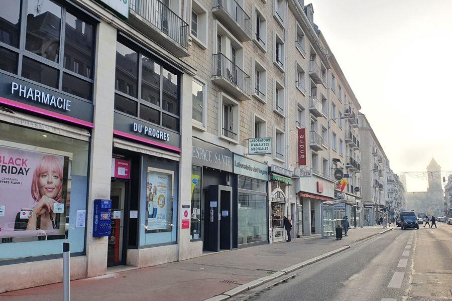 Bureaux à louer Caen Centre Ville